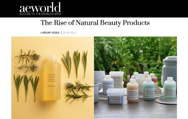 Davines, Sustainable Beauty brand on AEWorld