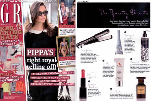 Grazia Magazine April 2012