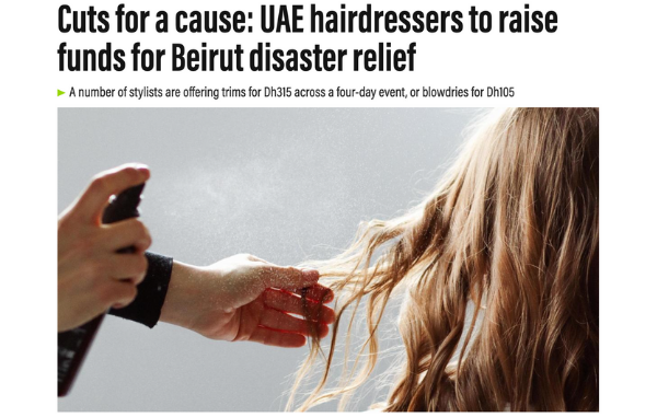 Cuts for a cause x The National.ae