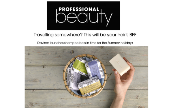 Essential Haircare shampoo bars in Professional Beauty!