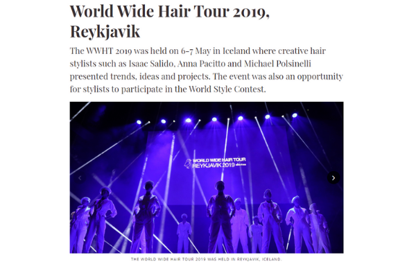 Davines World Wide Hair Tour on Middle East Beauty
