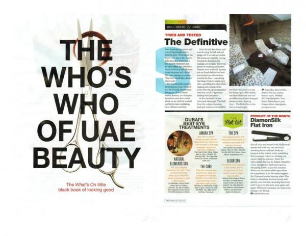What's On Dubai September 2013
