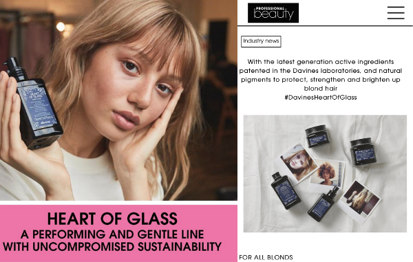 Heart of Glass on Professional Beauty