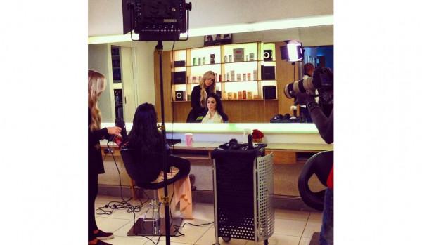 Styling Tala Samman for Abu Dhabi TV March 2014