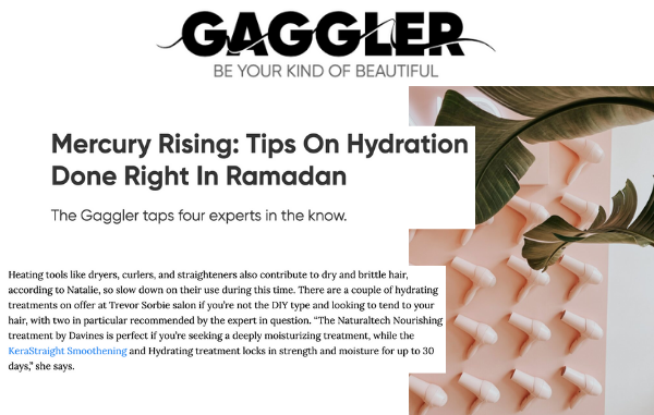 Taking care of your hair during ramadan in The Gaggler