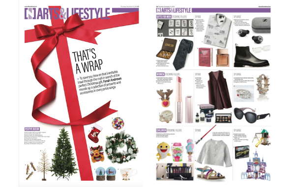 ARTS&LIFESTYLE CHRISTMAS GIFTS GUIDE 2019