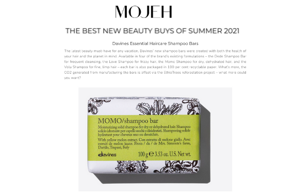 Mojeh best new beauty buys for summer!