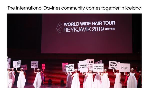 Davines Artistic Community on Professional Beauty