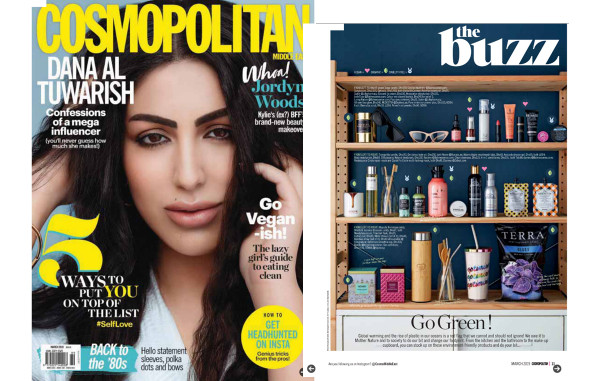 Go green with The Circle Chronicles by Cosmopolitan