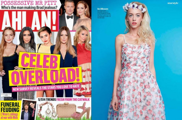Ahlan! Magazine's S/S '14 Fashion Trends Shoot - Hair by EIDEAL March 2014