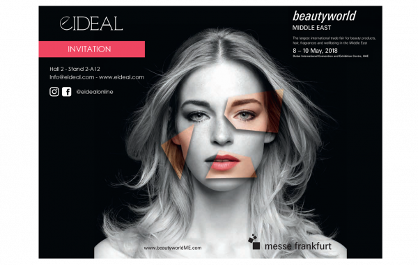EIDEAL at the Beauty World Middle East 2018