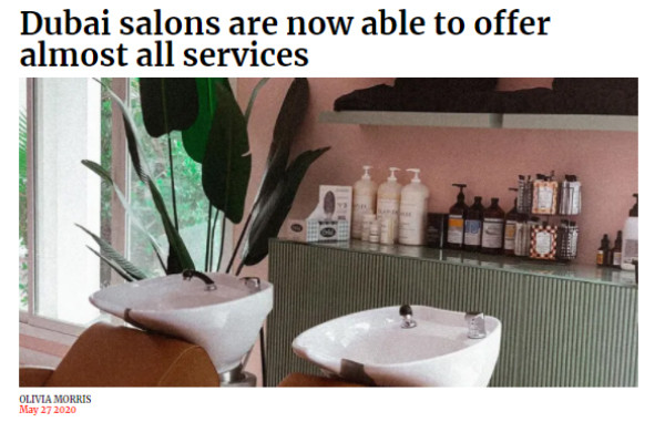 Salons going back to normal on Emirates Women