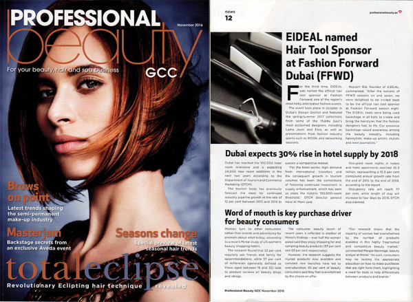 Fashion Forward Coverage in Professional Beauty!