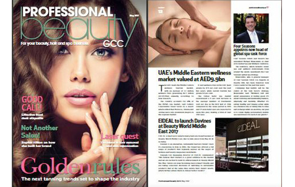 Davines' launch on Professional Beauty