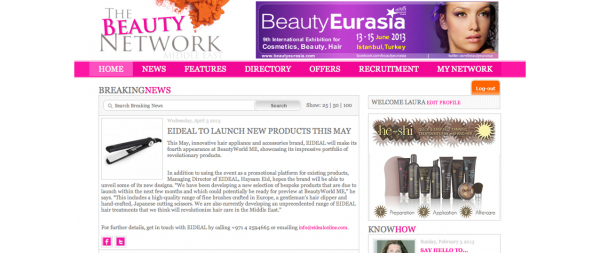 The Beauty Network April 2013