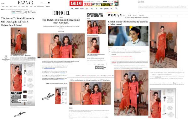 EIDEAL amongst Kendall Jenner's favorite Dubai Brand