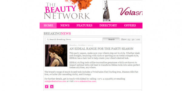 The Beauty Network October 2013