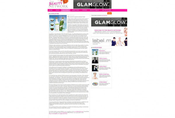 The Beauty Network July 2014