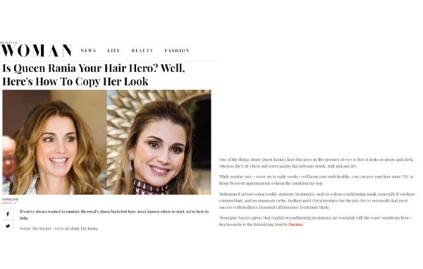 IS QUEEN RANIA YOUR HAIR HERO?