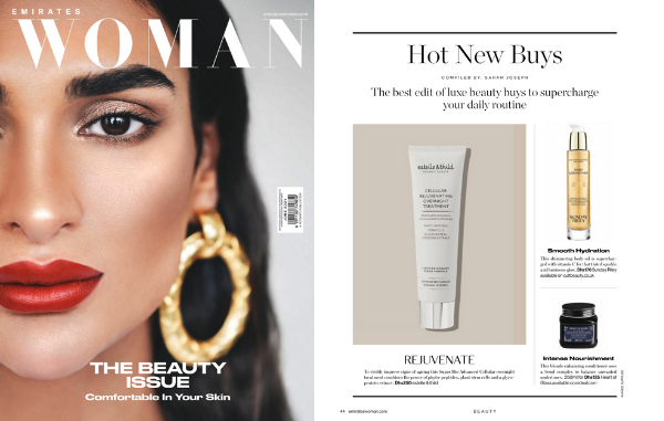 Heart of glass in the hot new buys list of Emirates Woman