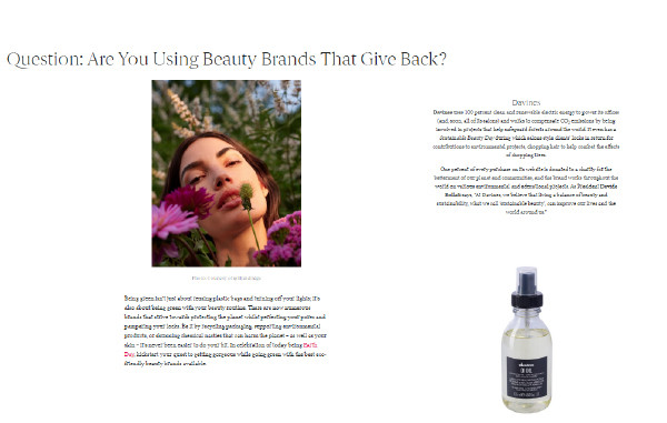 Are You Using Beauty Brands That Give Back?