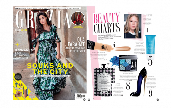 The Purity Circle in Grazia's Beauty Charts