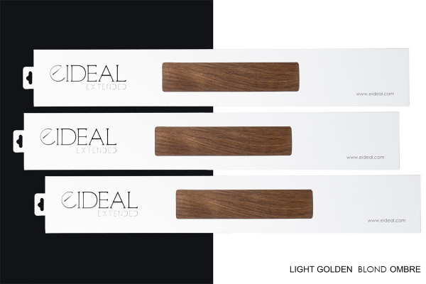 EXTENDED Light Golden Blond Ombre